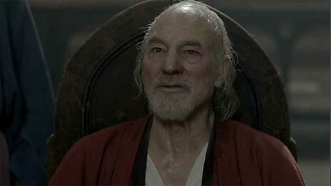 Patrick Stewart as John of Gaunt